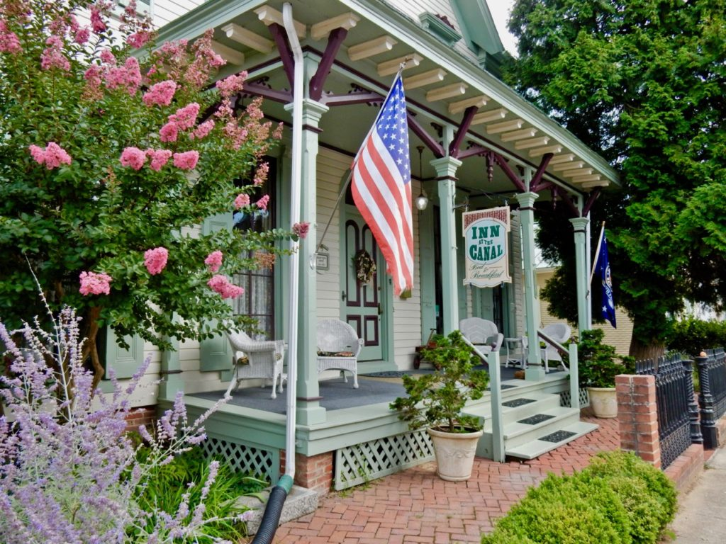 Porch Inn at the Canal Chesapeake City MD