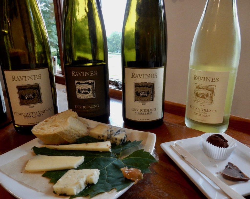 Ravines Wine Pairing Keuka Lake NY