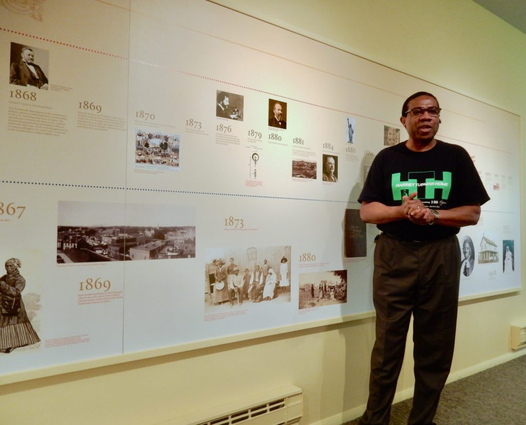 Reverend Paul Gordon Carter Harriet Tubman Home NHS Auburn NY