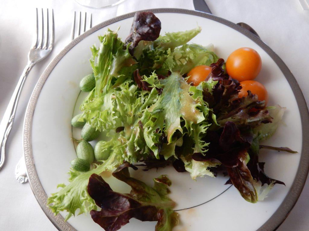 Fresh Picked Salad Pleasant Valley Inn Hammondsport NY