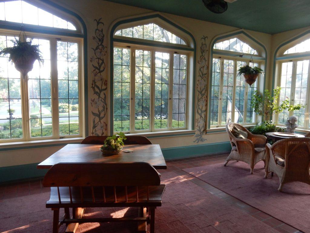Solarium Vintage Gardens BnB Newark NY