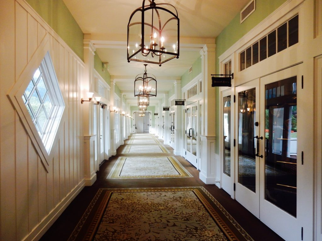Spa Corridor Omni Bedford Springs Resort PA