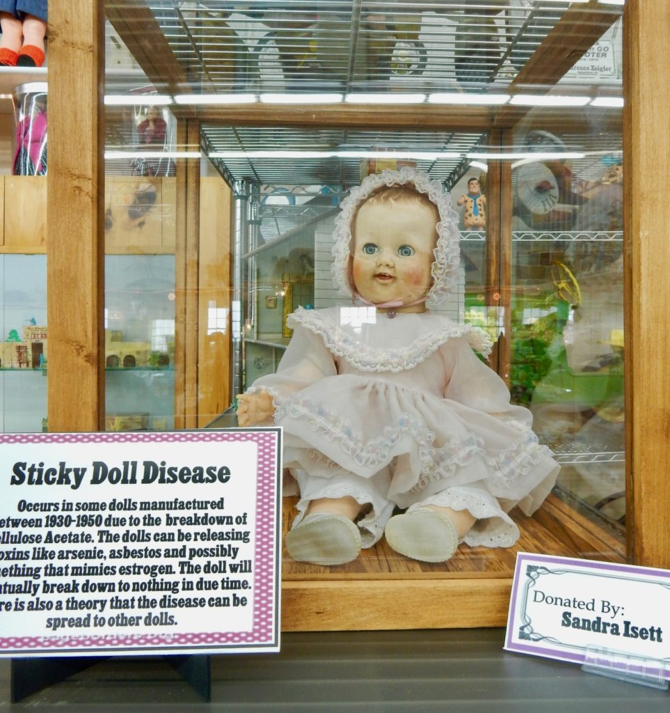 Sticky Doll Syndrome Isett Museum Huntingdon PA