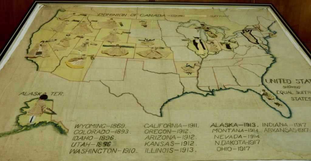 Women's Vote Map, Rochester NY Public Library