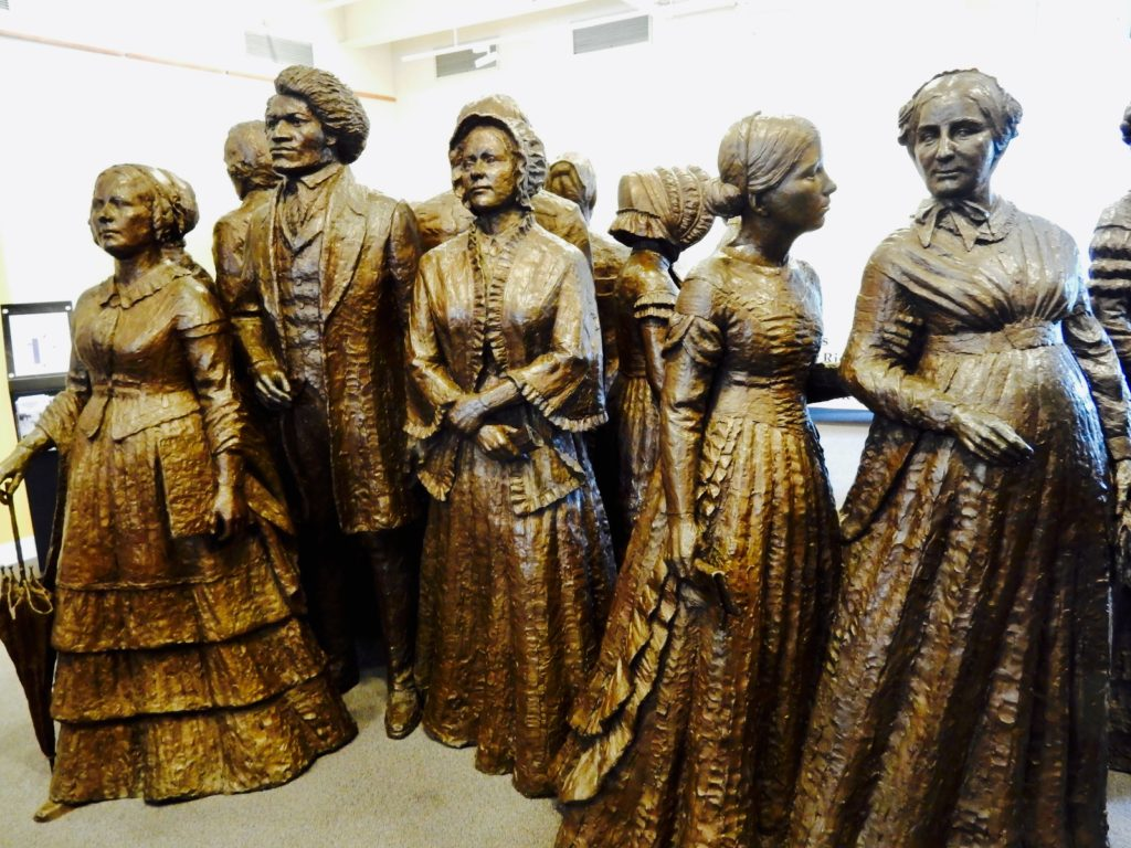 Suffragist Statues Womens Rights NHP Seneca Falls NY