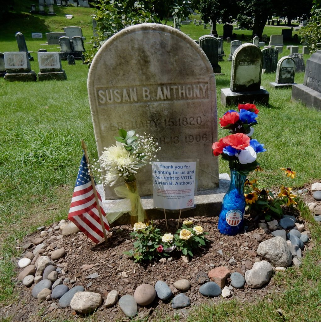 Susan B Anthony Grave Rochester NY