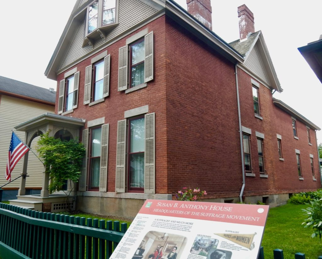 Susan B. Anthony Home Rochester NY