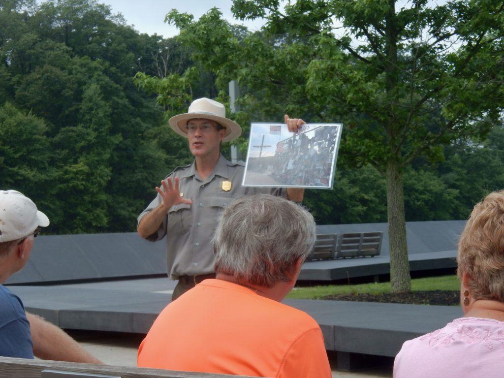 Flight 93 Memorial Park Ranger