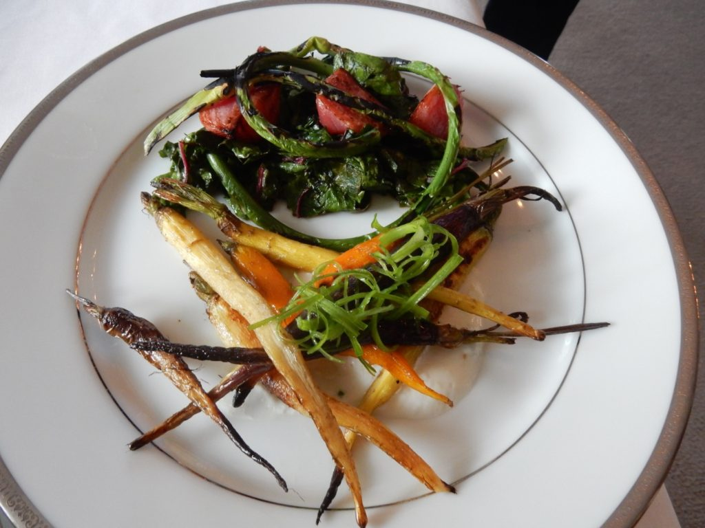 Roasted Baby carrots Pleasant Valley Inn Dinner Hammondsport NY