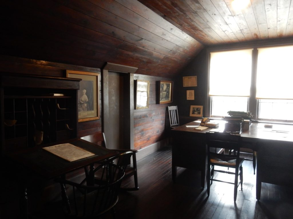 Susan B Anthony house War Room Rochester NY