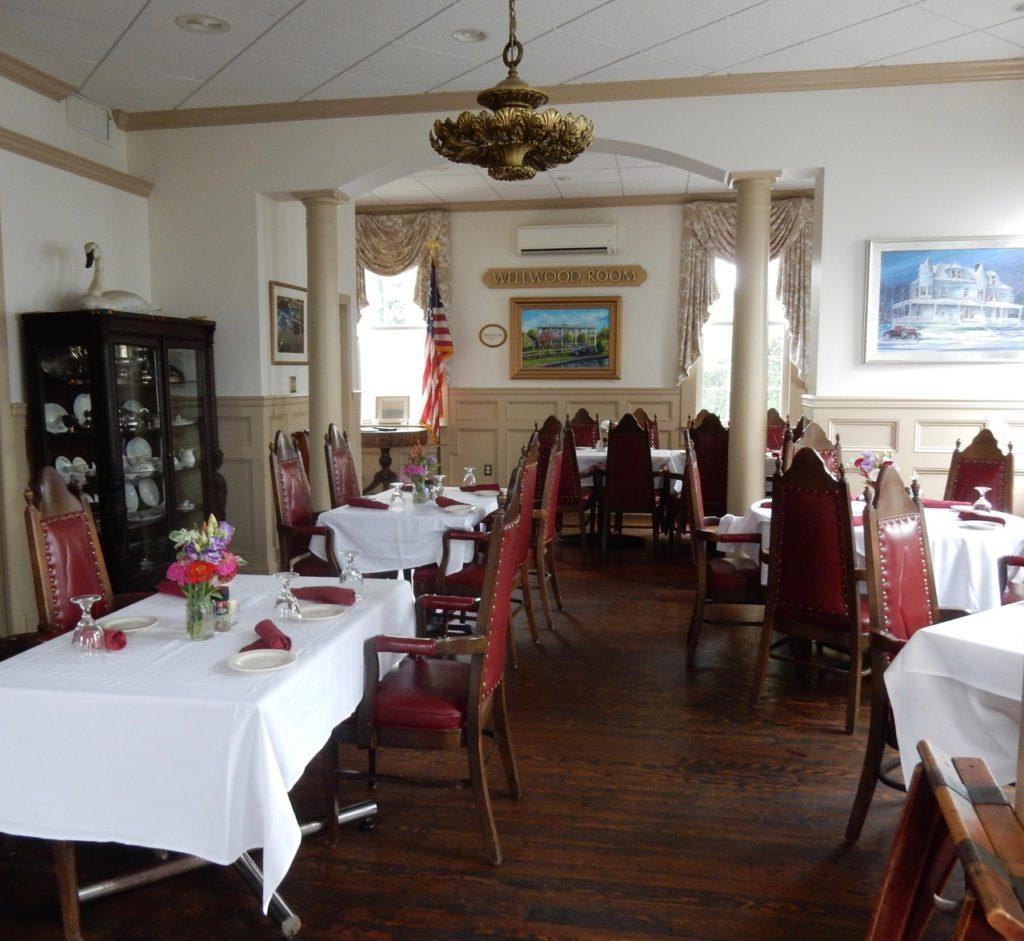 Wellwood Club Dining Room Charlestown MD