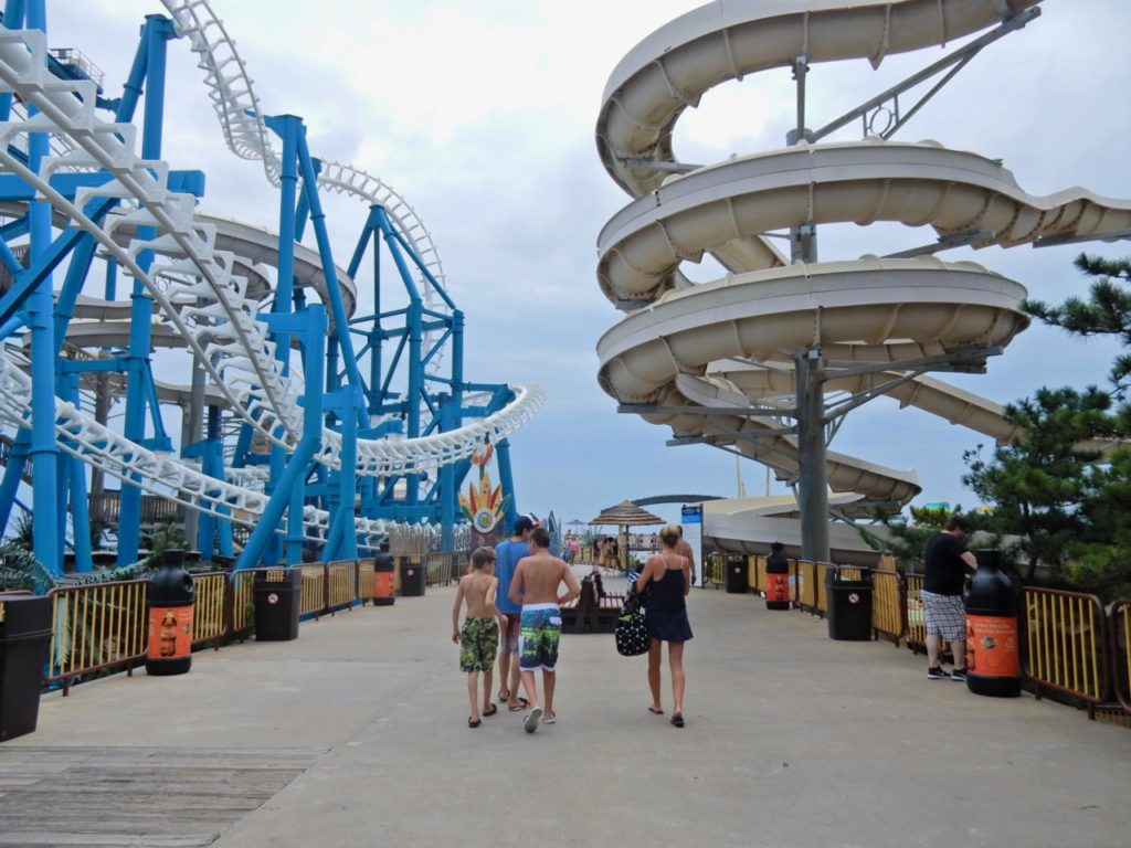 Wet and Dry Rides Moreys Piers Wildwood NJ