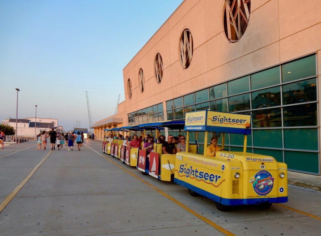 Wildwood Boardwalk Tram Car NJ