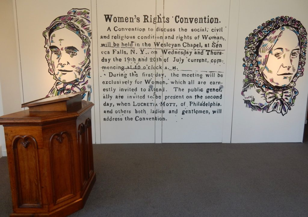 Womens Rights Convention Seneca Falls NY