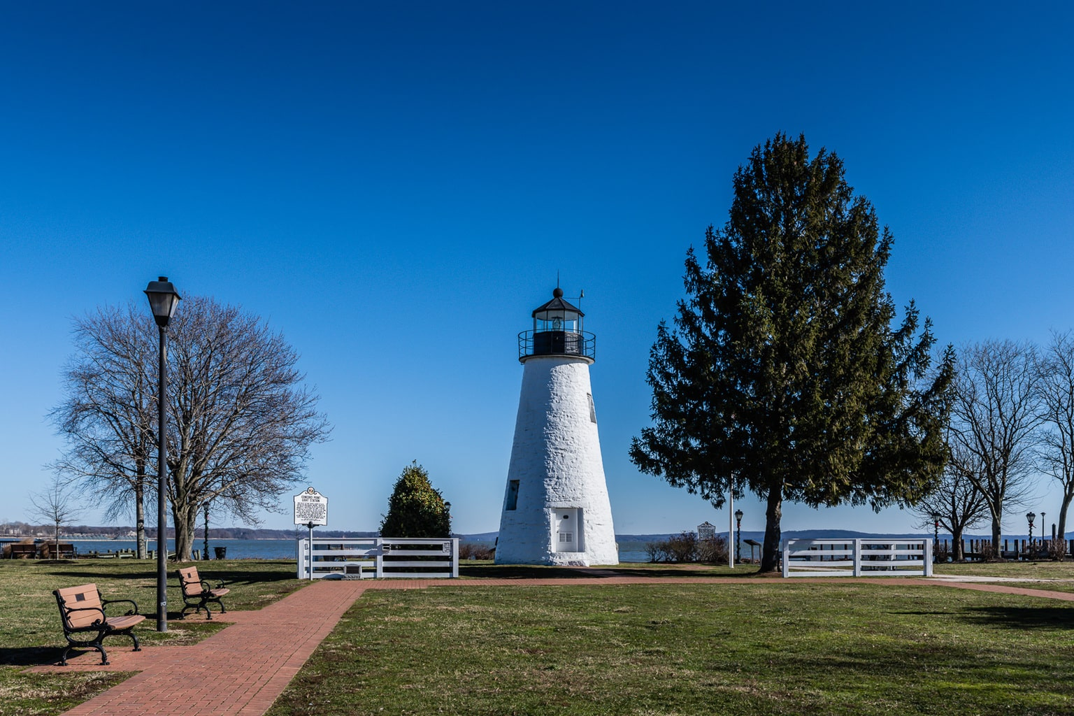 Connors Point Lighthouse in Havre de Grace MD