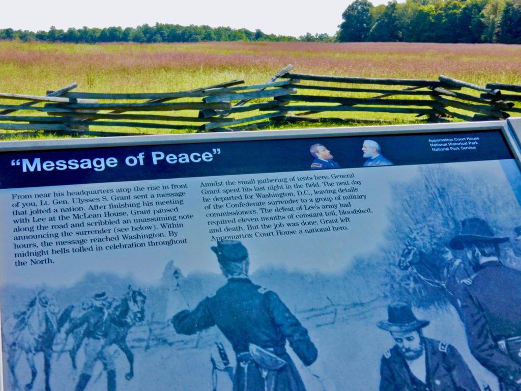 Appomattox Courthouse National Historical Park VA