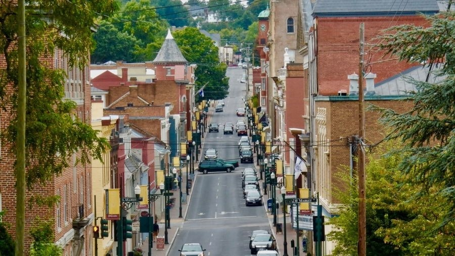 Staunton VA: Shakespeare and Diverse Architecture in a Small Virginia Town