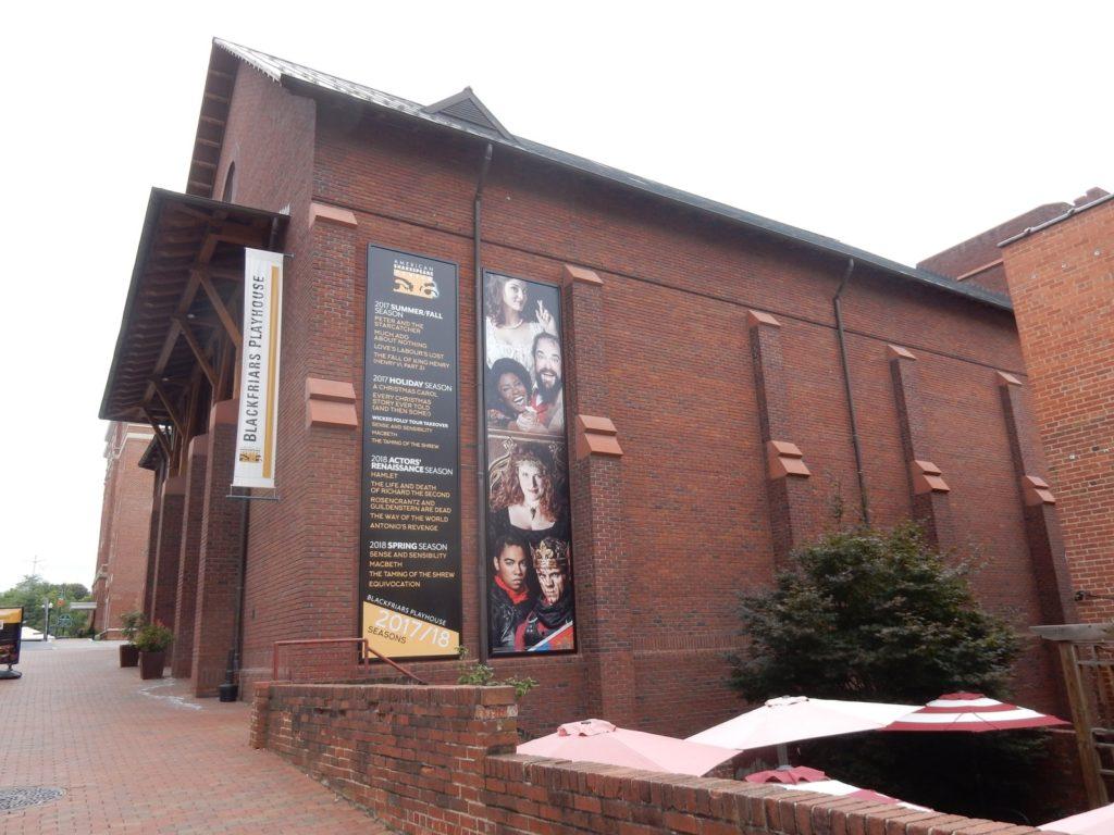 Blackfriars Playhouse Staunton VA