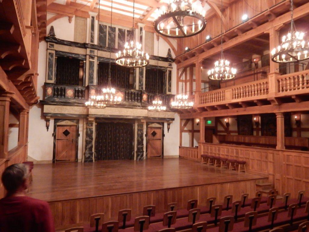 Blackfriars Theater Interior Staunton VA