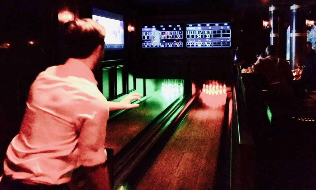 Bowling Fishbowl Dream Hotel Midtown NYC