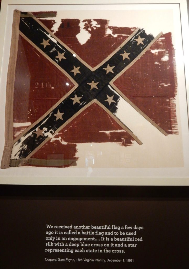 Confederate Battle Flag American Museum of Civil War, Appomattox VA