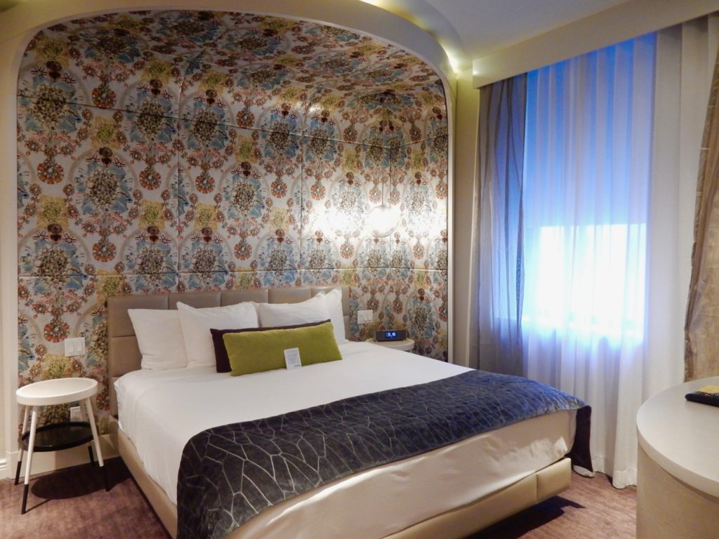 Renovated guest room at Dream Midtown Hotel NYC