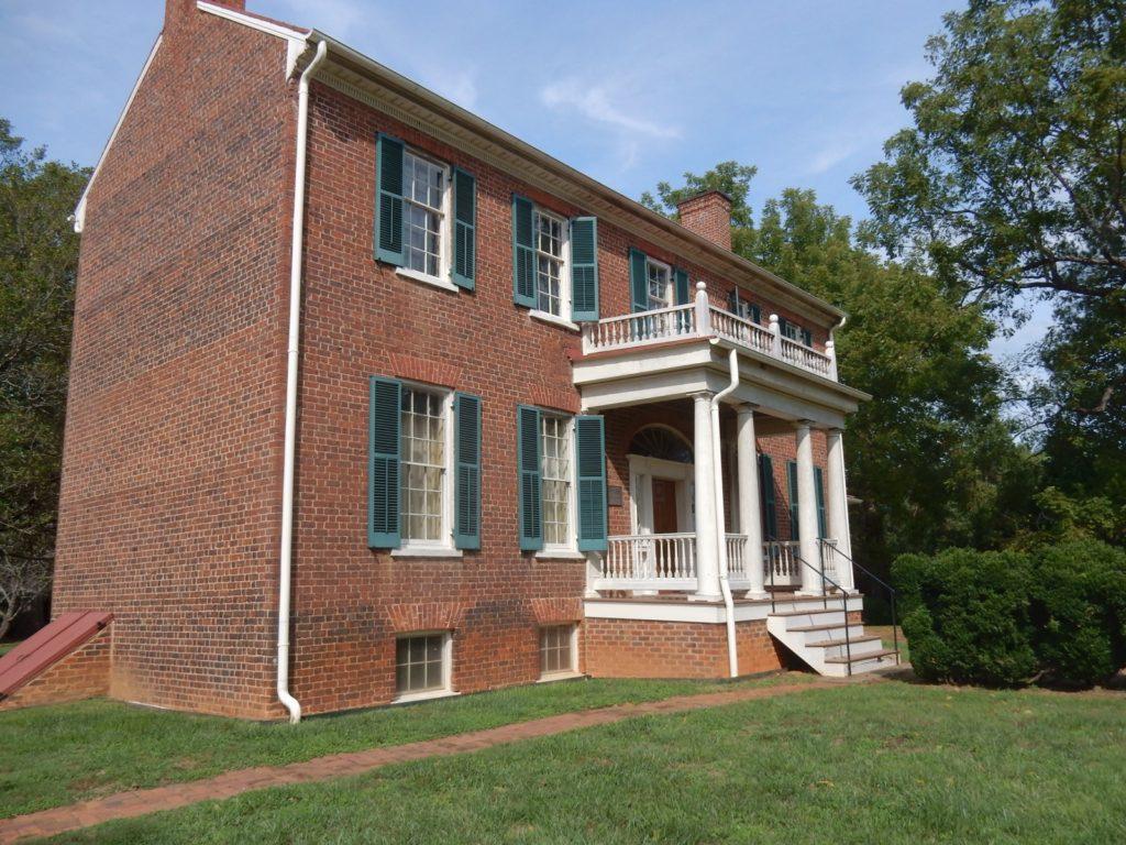 Historic Sandusky(Union General Hunter's Headquarters for Battle of Lynchburg).