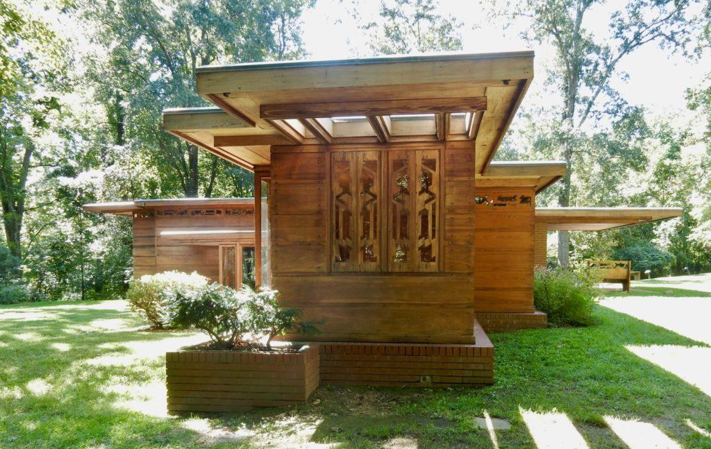 Frank Lloyd Wright Pope-Leighey House, Fairfax VA