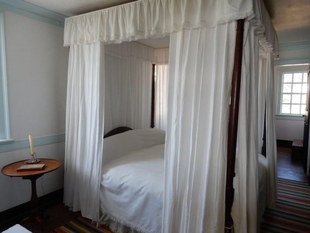George Washington Death Bed Mt Vernon VA