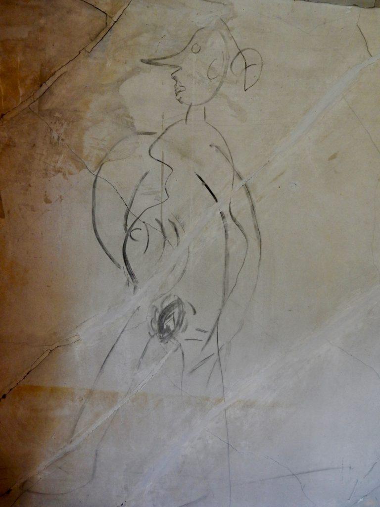 Historic Blenheim, Fairfax VA Naked Woman