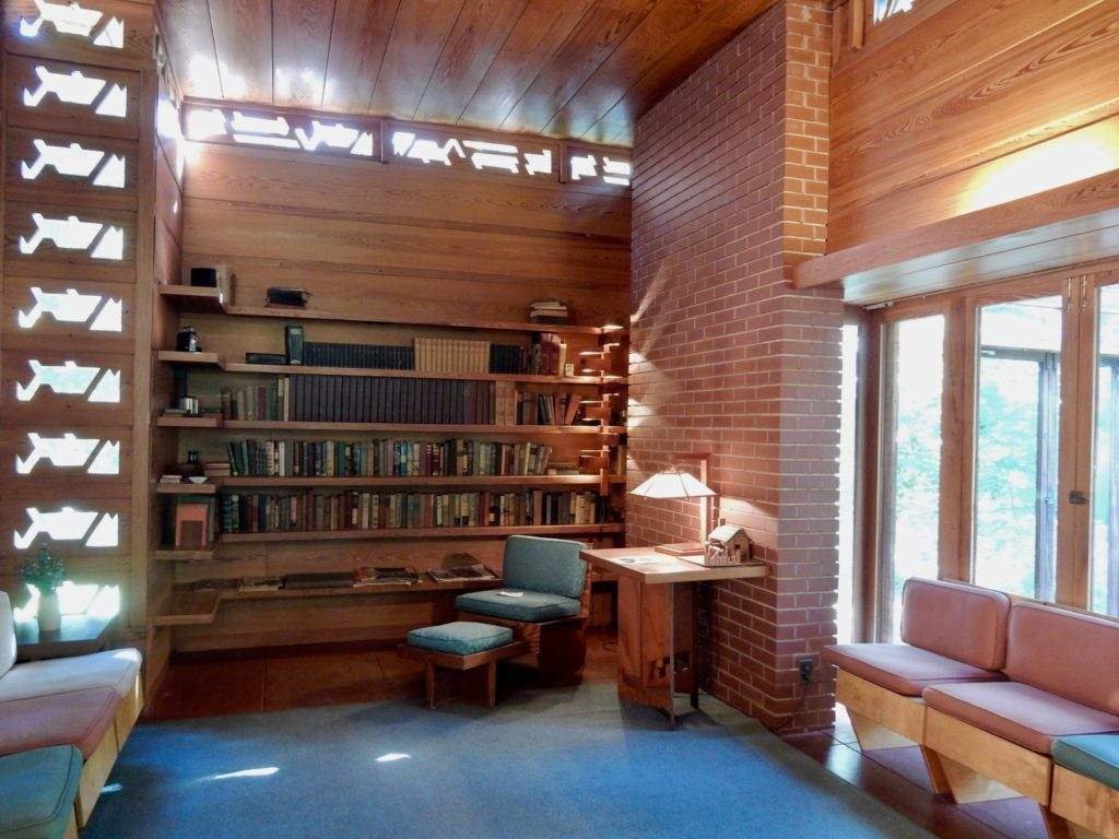 Living Room, Frank Lloyd Wright Pope-Leighey House, Fairfax VA