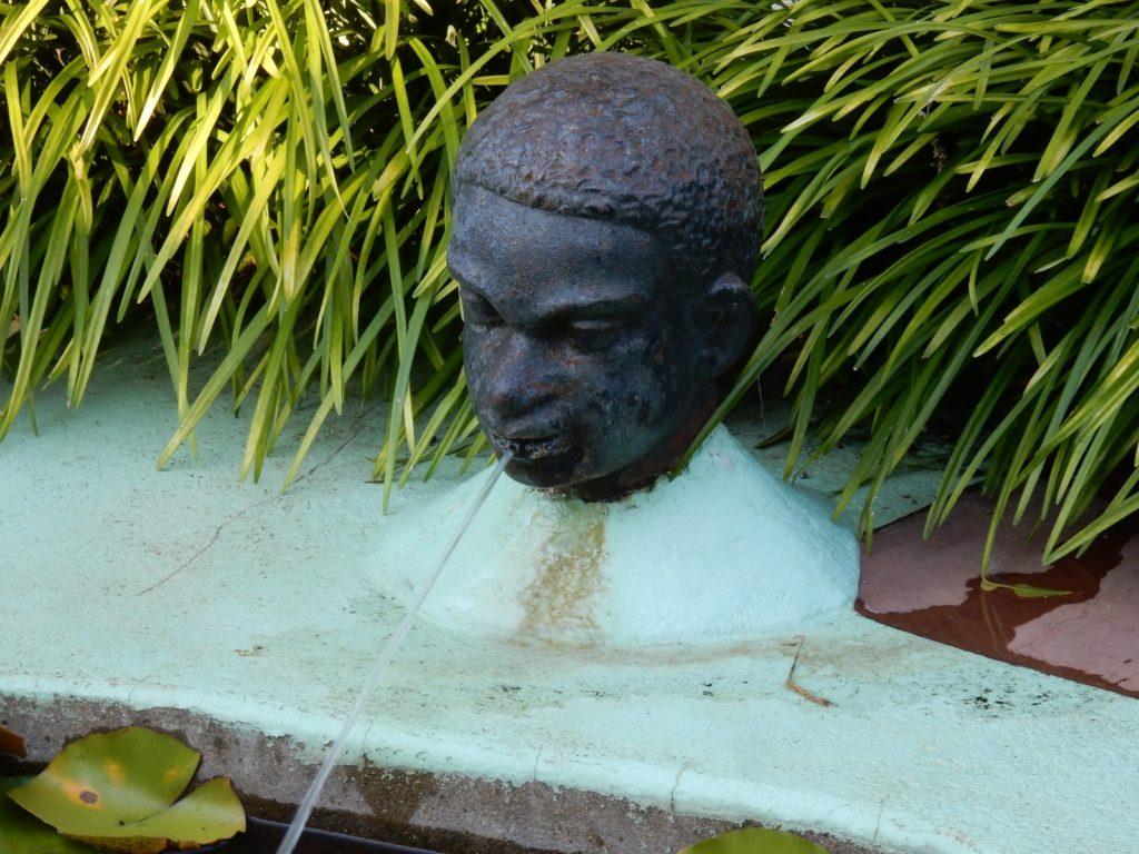 African-American Iron Head Anne Spencer Gardens, Lynchburg VA