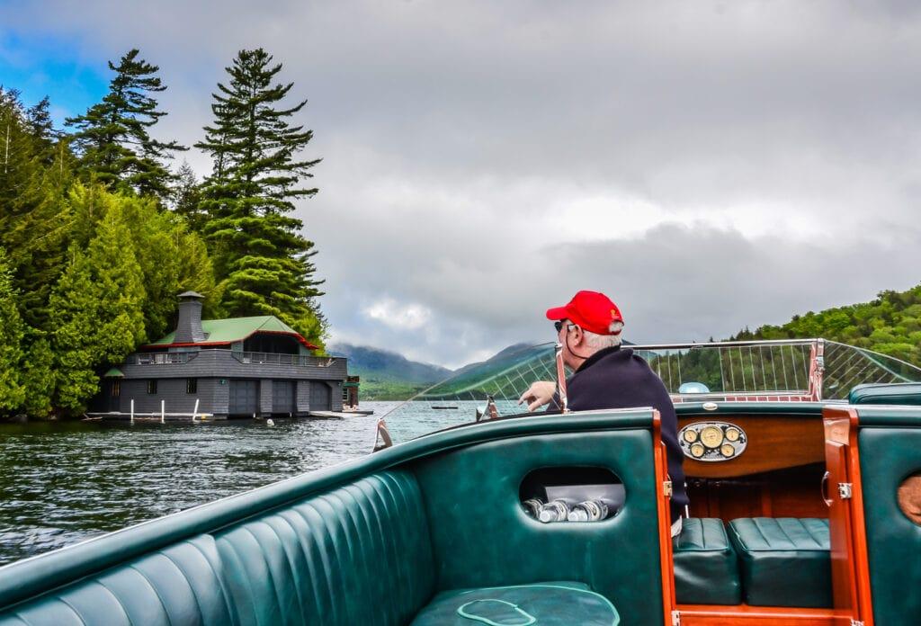 Lake Placid Boat Tour