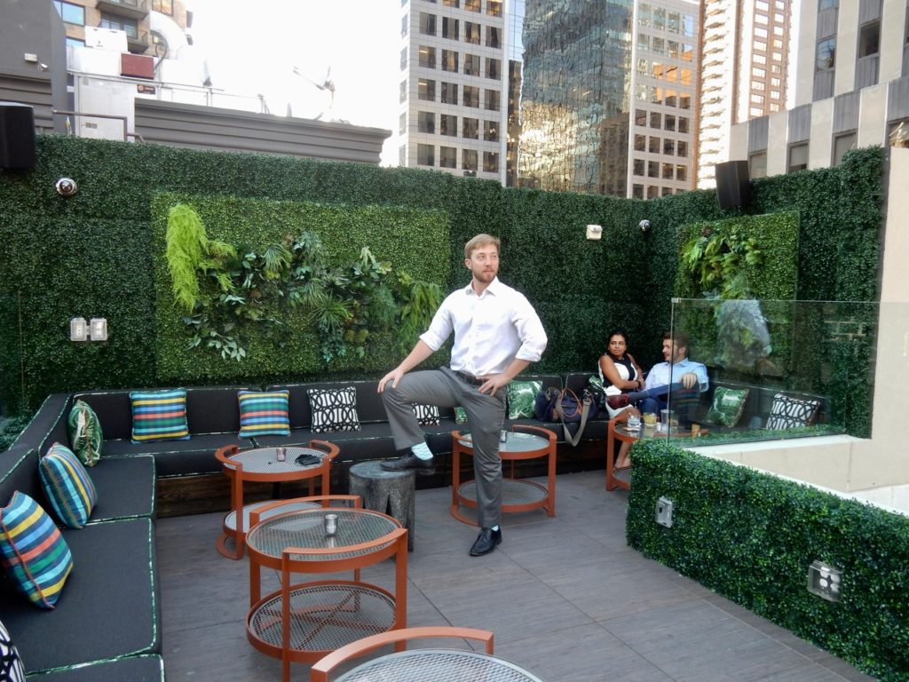 Living Wall PHD Terrace Dream Midtown NYC
