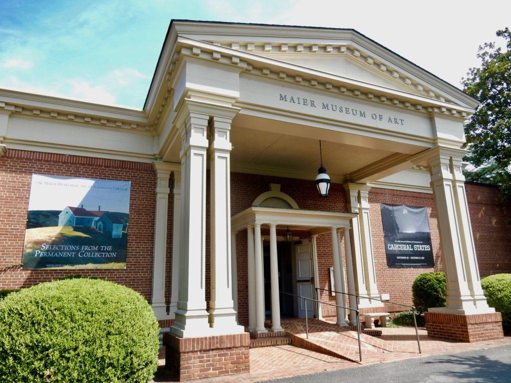 Maier Museum of Art, Randolph College, Lynchburg VA