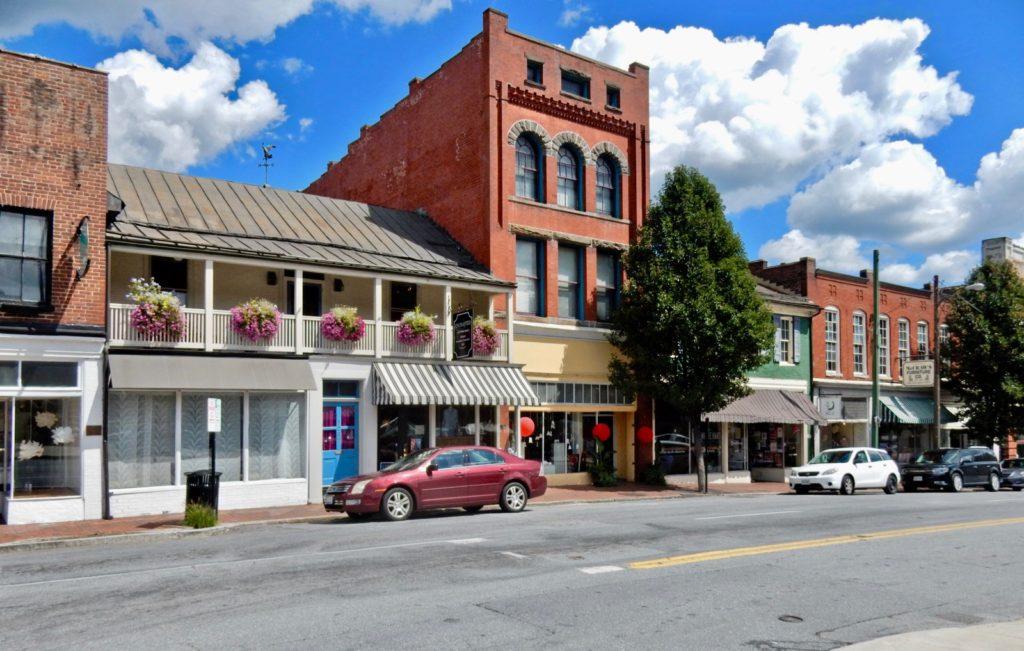 Downtown Lynchburg VA