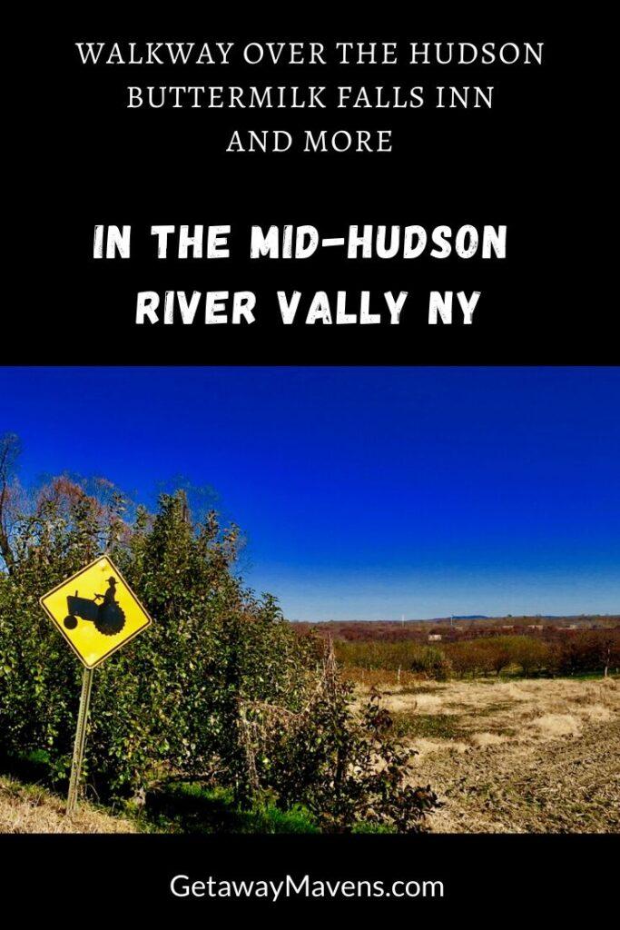Mid Hudson River Valley NY Pin