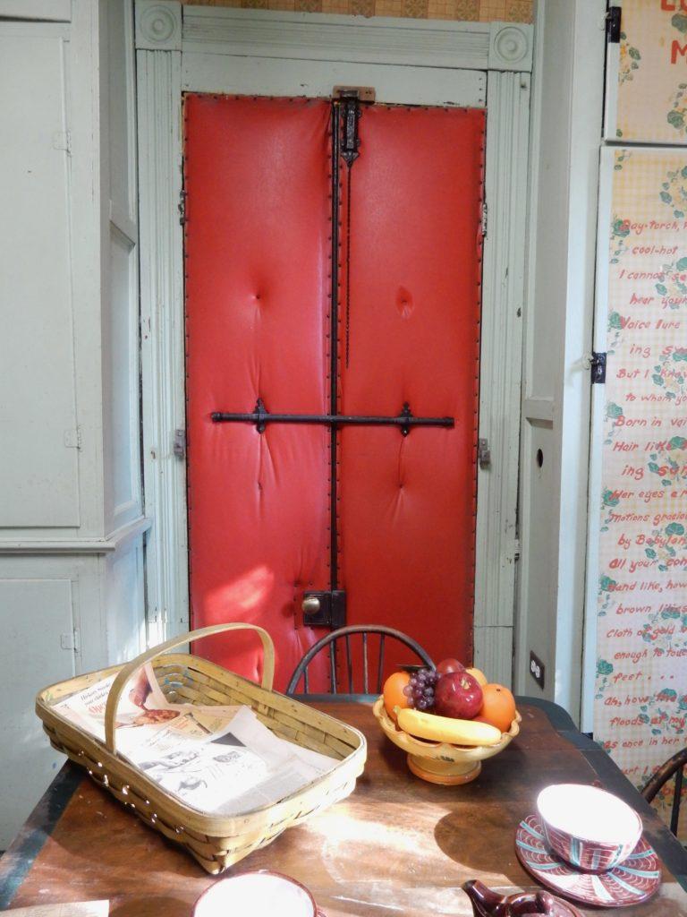 Segregated Movie House Door, Anne Spencer Home, Lynchburg VA