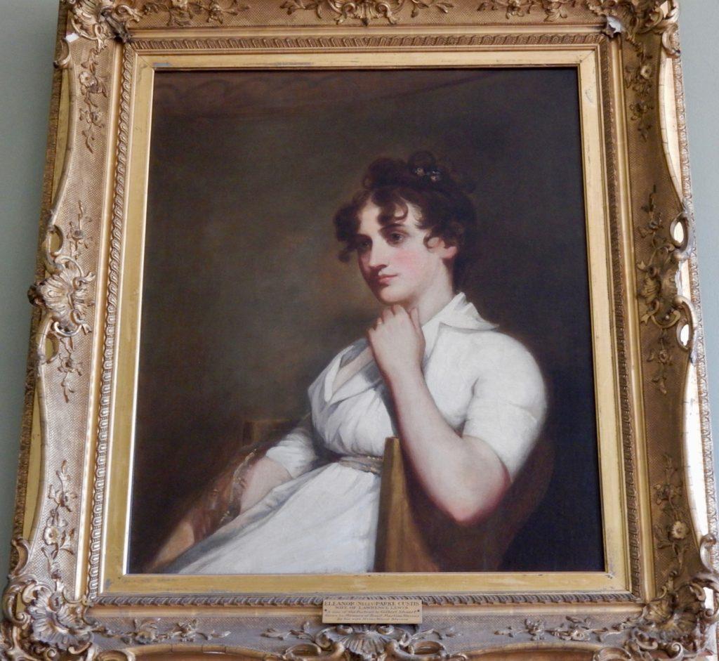 Portrait of Nellie Lewis, Woodlawn, Fairfax VA