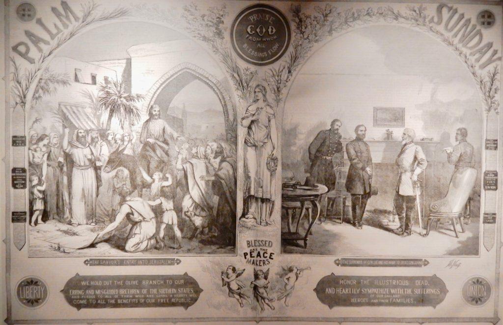 Palm Sunday After Appomattox, American Museum of Civil War VA