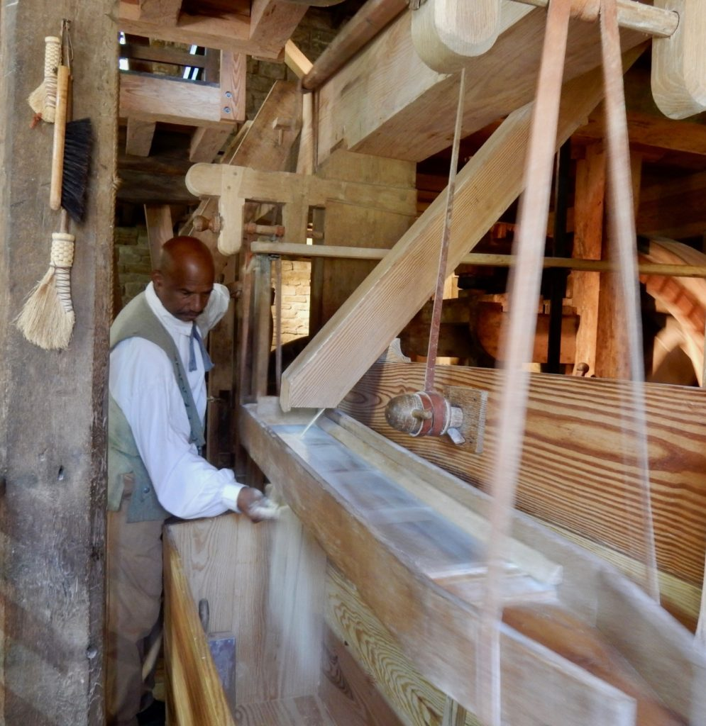 Peter Curtis, miller, George Washingtons Gristmill and Distillery VA
