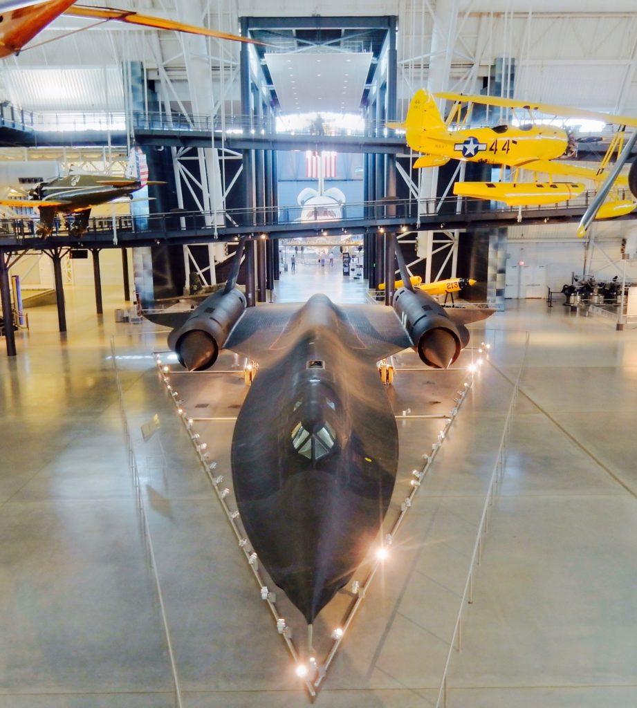 SR-71 Blackbird, Steven F. Udvar-Hazy National Air and Space Museum, Chantilly VA