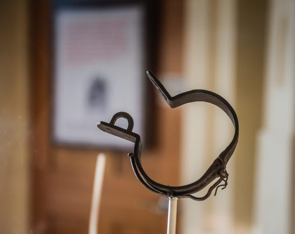 Slave Shackle - Underground Museum - Upstate New York