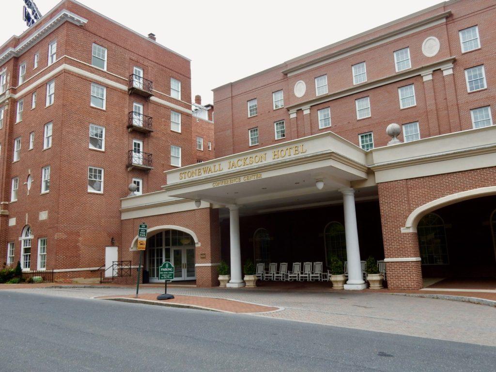 Stonewall Jackson Hotel Staunton VA