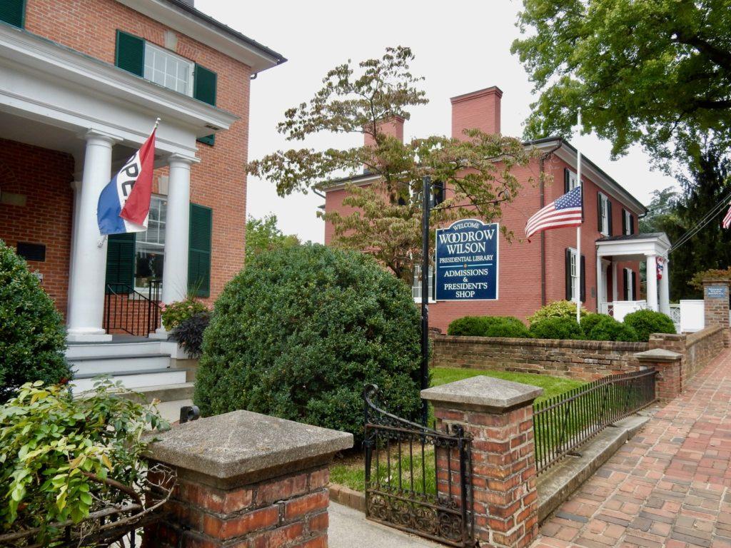 Woodrow Wilson Library and Museum Staunton VA