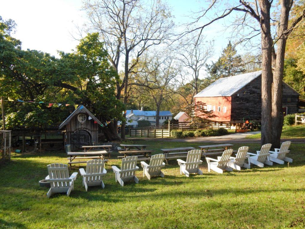 Adirondack Chairs, Shiloh Pottery Hampstead MD