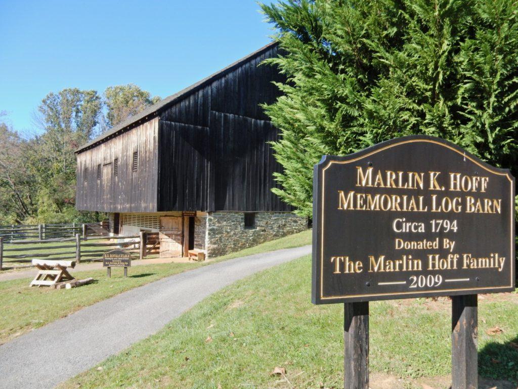 Marlin K Hoff Memorial Log Barn