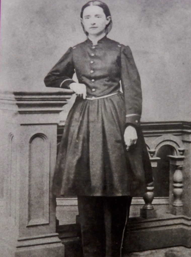 Historic photography of Dr. Mary Walker at the National Museum of Health and Medicine