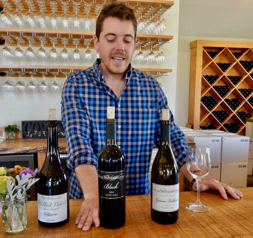 Drew Baker, Old Westminster Vineyards MD