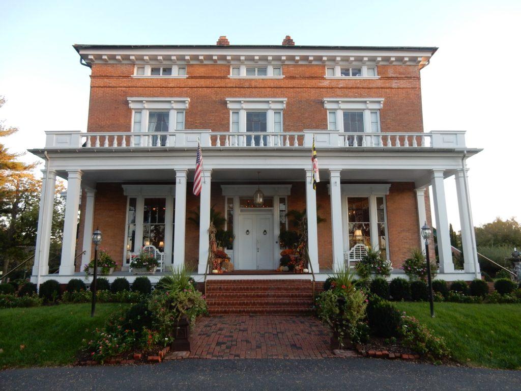 Antrim 1844 Exterior Entrance